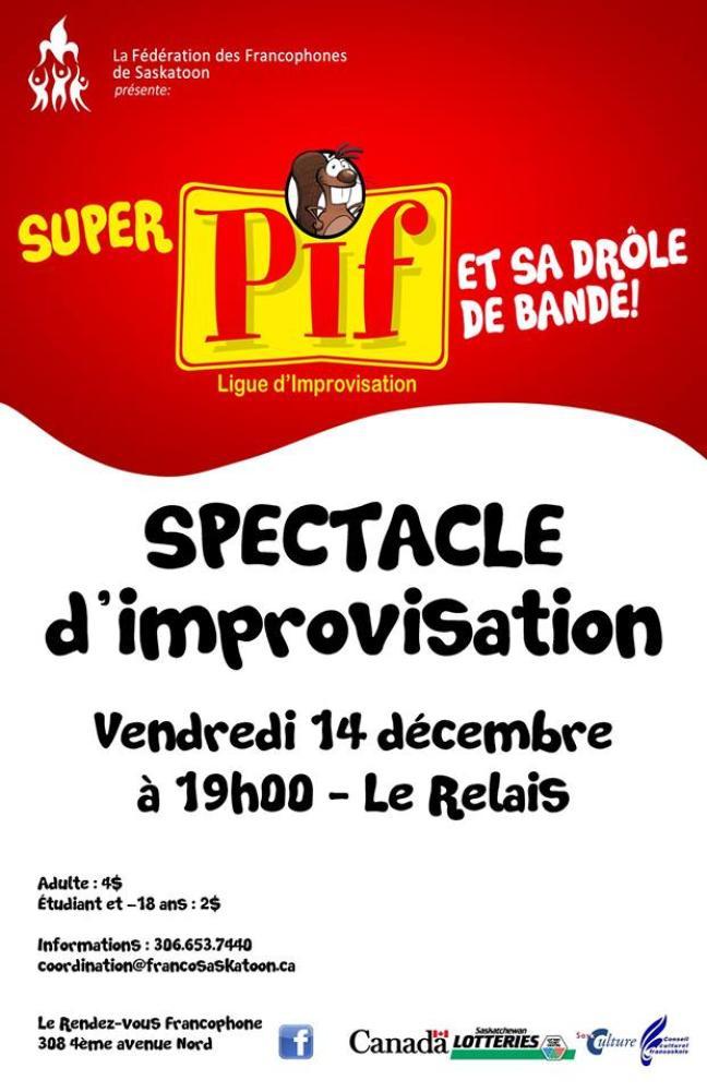 Affiche - Spectacle d'improvisation