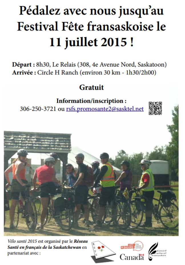 Affiche - Vélo santé 2015