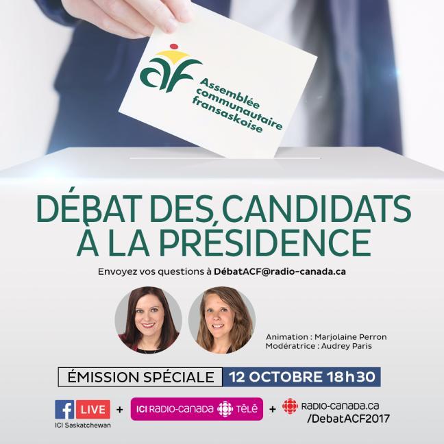 Affiche - Élections à l'ACF: Débat