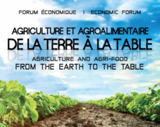 Affiche - Agriculture et agroalimentaire