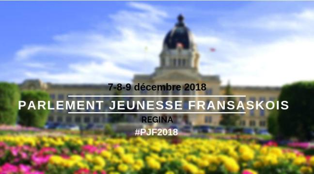 Affiche - Parlement Jeunesse Fransaskois 2018