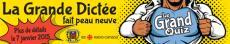 Logo - La Grande Dictée fait peau neuve!