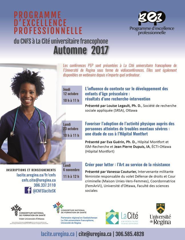 Affiche - Programme d'excellence professionnelle du CNFS